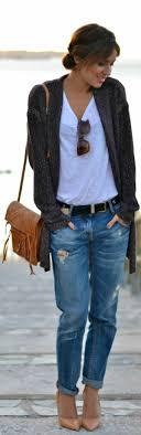 look bureau femme le jean boyfriend femme 70 idées comment le porter archzine fr