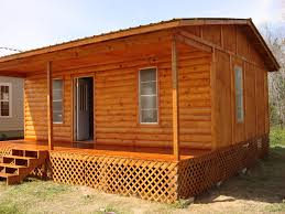 nice simple design of the cool cabin kits that has wooden floor