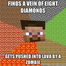 Zombie Meme Generator - 27 best minecraft memes images on pinterest minecraft stuff