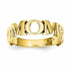 white gold mothers ring white or yellow 14k gold ring only 198 00 s day jewelry