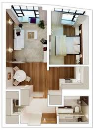 This Is A Good Small House Plan Walk In Closets And Laundry Needs - Apartment home design
