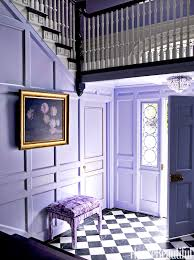 tour a house that u0027s eye candy for the purple obsessed entrance