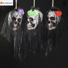 Halloween Skeleton Props by Online Get Cheap Skeleton Door Decoration Aliexpress Com