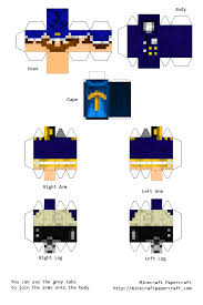 papercraft how to make a your very own minecraft papercraft