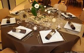 chocolat mariage décoration pour un mariage ivoire et chocolat