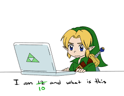 Link Meme - link is 10 and what is this i m twelve years old and what is