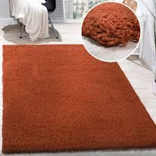 orange shag rug orange shag carpet plain orange modern solid