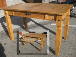 Rustic Pine Desk Furniture Rustic Wood Pier One Desks For Home Office Or Study