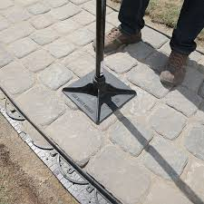 How To Make A Flagstone Patio With Sand How To Design And Build A Paver Walkway