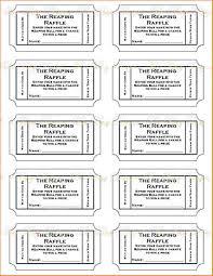 ticket template printable 28 images free printable raffle