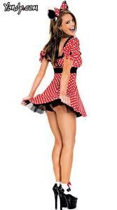 Minnie Mouse Halloween Costume Adults Minnie Mouse Costume 58 95 Halloween Inspo