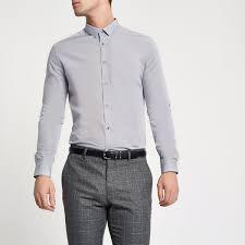 light grey dress shirt light grey slim fit long sleeve shirt shirts sale men