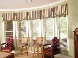 Bay Window Valance Dining Room Beautiful Window Valance In Farmhouse With Bay