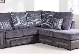 grey fabric corner sofa leah brown fabric corner sofa rhf sofashop com