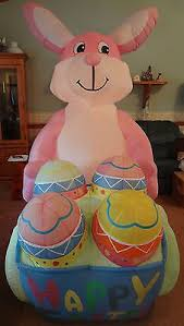 Easter Bunny Decorations Ebay by 81 Best Easter Inflatable Finds On Ebay Images On Pinterest