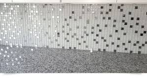 MODERN White Glass Metal Kitchen Backsplash Tile Backsplashcom - Metal backsplash