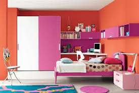 Orange And Pink Rooms Orange Pink Color Combination On Modern - Color combination for bedrooms