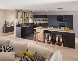 decoration cuisine noir et blanc beautiful cuisine noir et blanc et bois pictures design trends