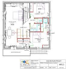 schema electrique cuisine plan electrique maison fabulous plan maison plan maison