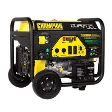 Read Write Think Generator Champion Power Equipment 8 000 Watt Dual Fuel Push Button Electric