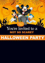 free mickey mouse halloween invitation cakecrusadersblog com