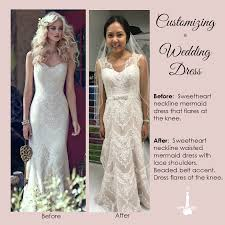 wedding dress alterations customized wedding dress alteration irene s label