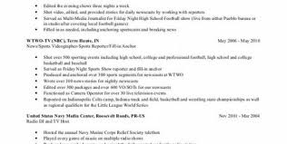 Sports Resume Sample by Resume Examples For Your Job Search Livecareer With Delightful How