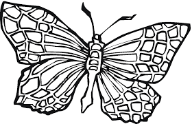 free butterfly coloring pages for preschool archives free