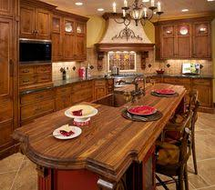 Traditional Italian Kitchen Design Tuscan Themed Kitchen Decor Decorating Ideas Kitchen Ideas