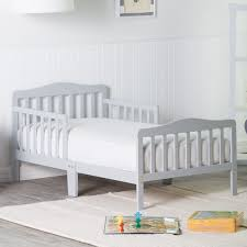 toddler beds for girls orbelle contemporary solid wood toddler bed gray hayneedle