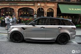 chrome range rover land rover urban range rover sport rrs 4 july 2016 autogespot