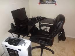 gaming office setup top 58 tremendous atlantic gaming desk u shaped setup small corner