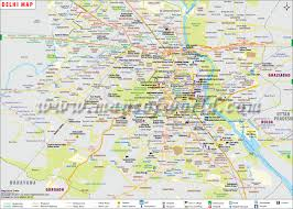 North India Map by Delhi Map City Map Of Delhi Capital Of India