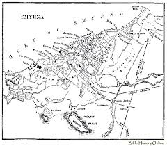 smyrna map map of smyrna images of ancient smyrna minor cities at