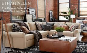 Ethan Allen Retreat Sofa Amazon Com Ethan Allen Retreat Roll Arm Three Piece Sectional