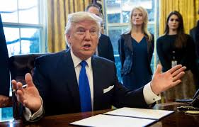 trump oval office pictures trump gives green light to keystone dakota access pipelines wbfo