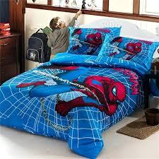 Superhero Bedding Twin Superhero King Size Duvet Covers Boys Spiderman Bedding Set Kids