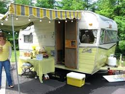 Trailer Awnings Replacement Travel Trailer Awnings Installation Double Awning One End Travel