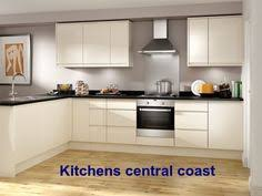 kitchen designers central coast a modern touch is attained with a subtle glass splashback and