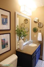 guest bathroom makeover guest post country chic paint
