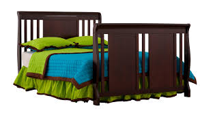 Fixed Side Convertible Crib by Verona 4 In 1 Convertible Crib Cherry Walmart Com