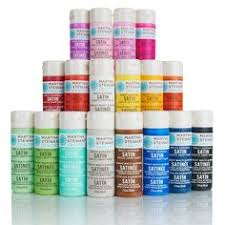 overstock the martha stewart crafts glitter acrylic paint set
