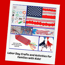 labor day crafts and activities for families with kids wikki stix
