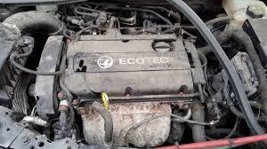 2009 vauxhall astra 1 6 petrol 16v manual engine code a16xer
