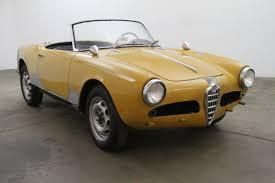 alfa romeo classic spider 1959 alfa romeo giulietta spider beverly hills car club
