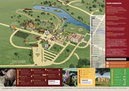 Pandas Map Park Maps Visitor Info Longleat