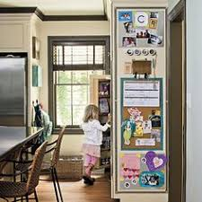 kitchen message center ideas magnetic command center accessories small buckets sheet metal
