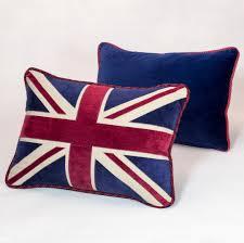 Blue Union Jack Cushion Cushions By Mikhail Pietranek Luxury Interior Design Specialist