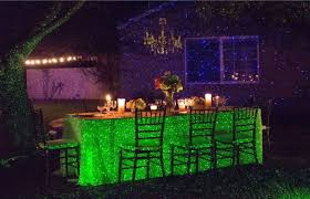 Landscape Laser Lights Blisslights Spaces Eclectic With Accent Lights Backyard Lighting