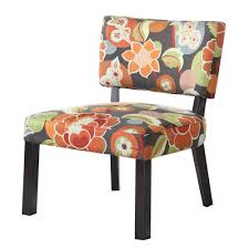 contemporary floral accent chair u2014 outdoor chair furniture types